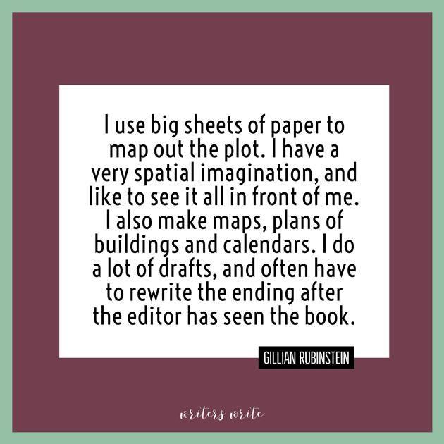 Quotable – Gillian Rubinstein - Writers Write