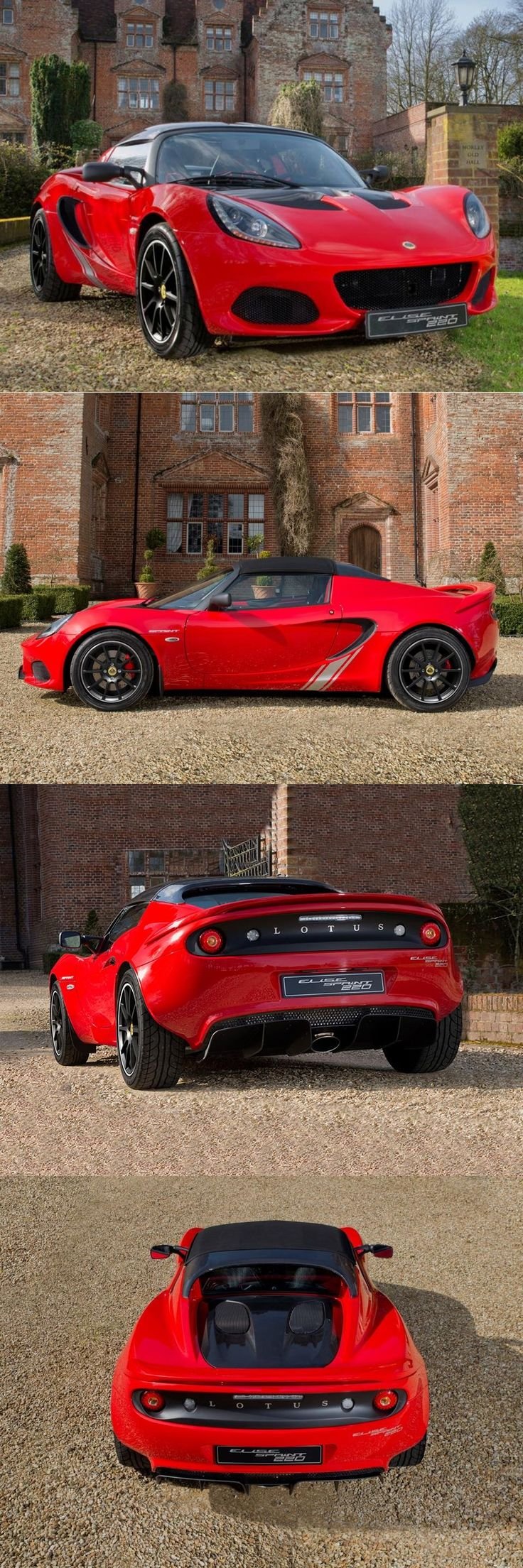 Lotus Cars has released a new variant of their lightweight sportscar Elise – the Sprint.