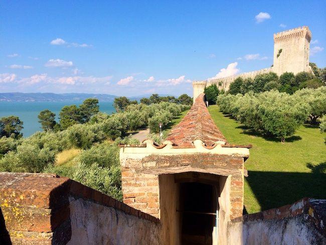 La Rocca del Leone a Castiglione del Lago