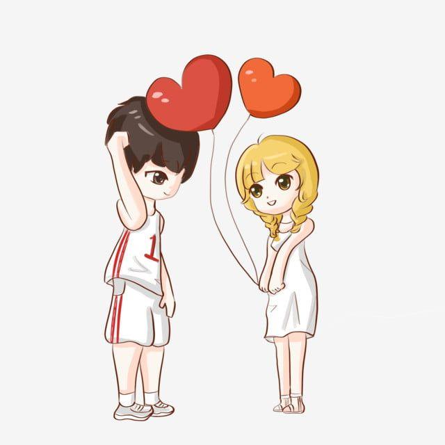 Casal Fofo Cartoon Jane A Arte Da Palavra Imagem Png E Psd Para Download Gratuito Love Stickers Cartoons Love Valentines Day Drawing