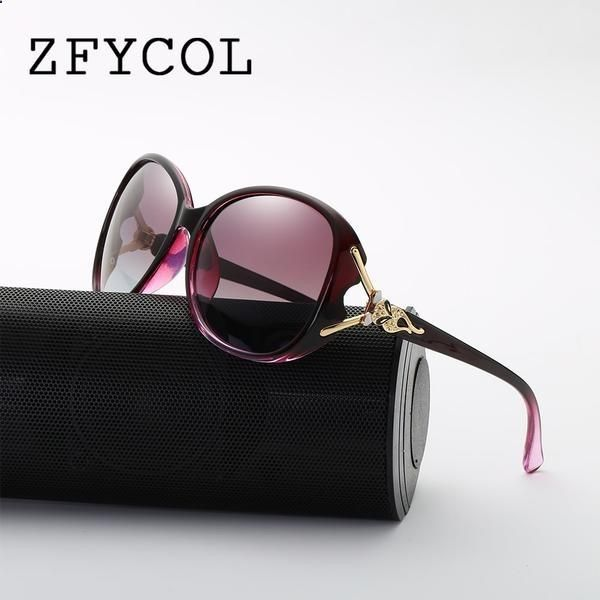 5e2fadef6da3b Vintage Sunglasses Trends -  FASHION  NEW ZFYCOL Vintage Sunglasses  Polarized Women Brand Designer Fashion