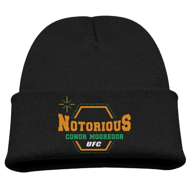 Winter Cap Conor Mcgregor Ufc 189 Notorious Fashion Children's. 85% Cotton,15% Fleece,Size Adjustable,stretchable Rib-knit Fabric. Winter Warm Unisex Beanie,premium Quality,comfortable To Wear,warm&breathable. A Beautiful And Versatile Accessory For The Whole Year; Makes You More Attractive, Charming,. Recommend Hand Wash, No Wash Machine. Delivery Time: About 7-14 Business Days To Your Hands.