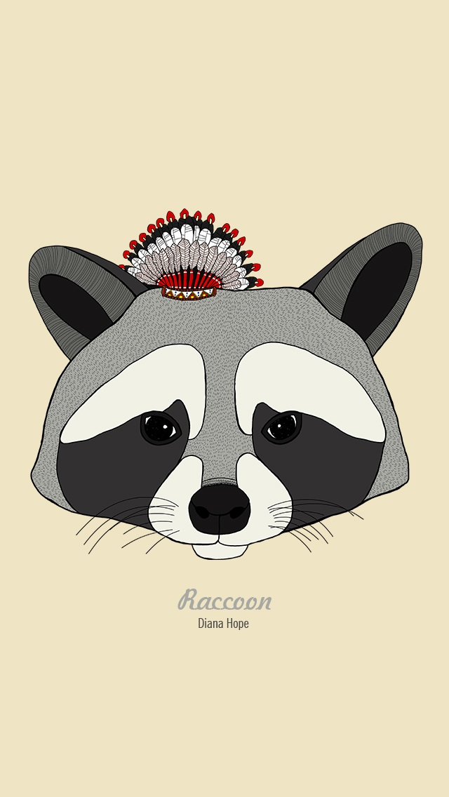Raccoon | graphic & illustration | Pinterest | Raccoons Raccoon Face Illustration