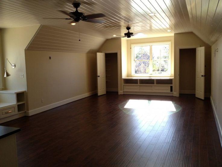 attic bonus room ideas - great idea for our bonus room if needed