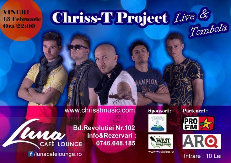 Chriss-T PROJECT Live la Luna Cafe Lounge