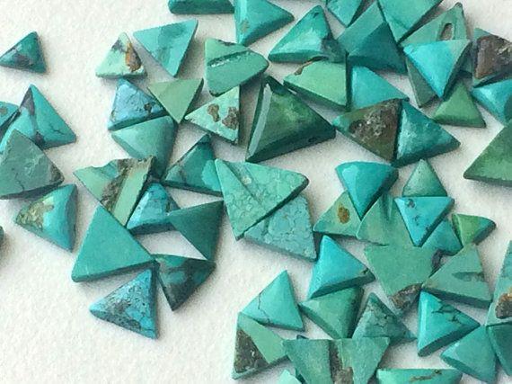 WHOLESALE 10 Pcs Tibetan Turquoise Cabochons by gemsforjewels