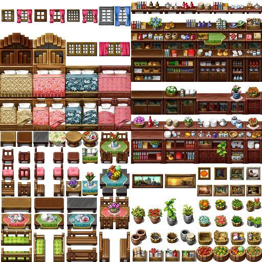RPG Maker VX - Tile C by Ayene-chan