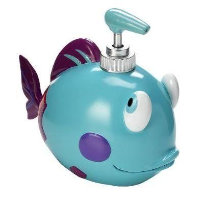 17 best images about kids bathroom ideas on pinterest for Fish soap dispenser