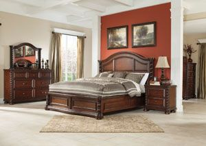 Brennville Queen Panel Bed Dresser