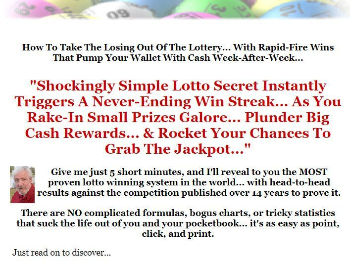Lottery Software - How To Win The Lottery - How To Win Lotto