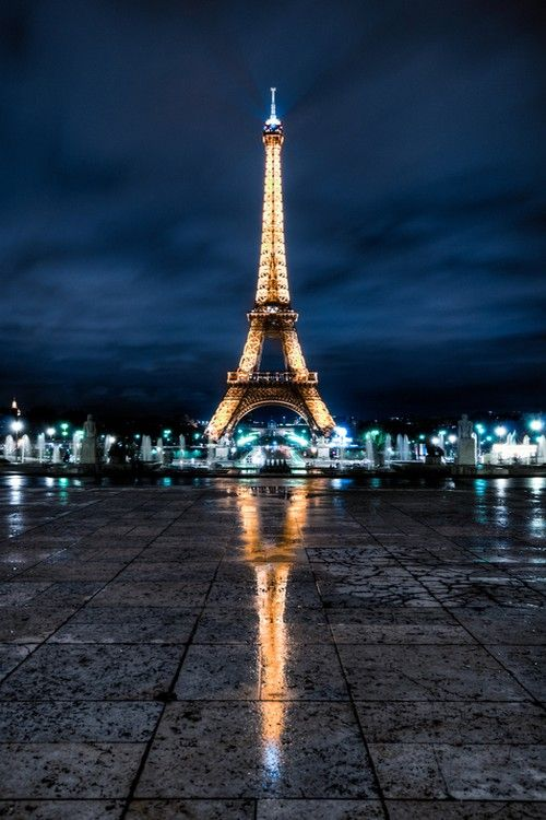 This was the view where I first saw the Eiffel tower (not my picture, mind.) It's something I'll never forget.