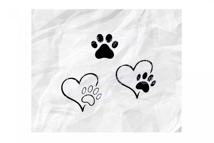 Download Paw Svg, Pet Love Svg, Dog Paw Svg, Dog Lover Svg, Paw Dxf ...