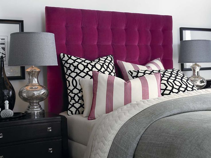 1000 Images About Upholstered Beds On Pinterest Nail Head Upholstered Headboards And Full