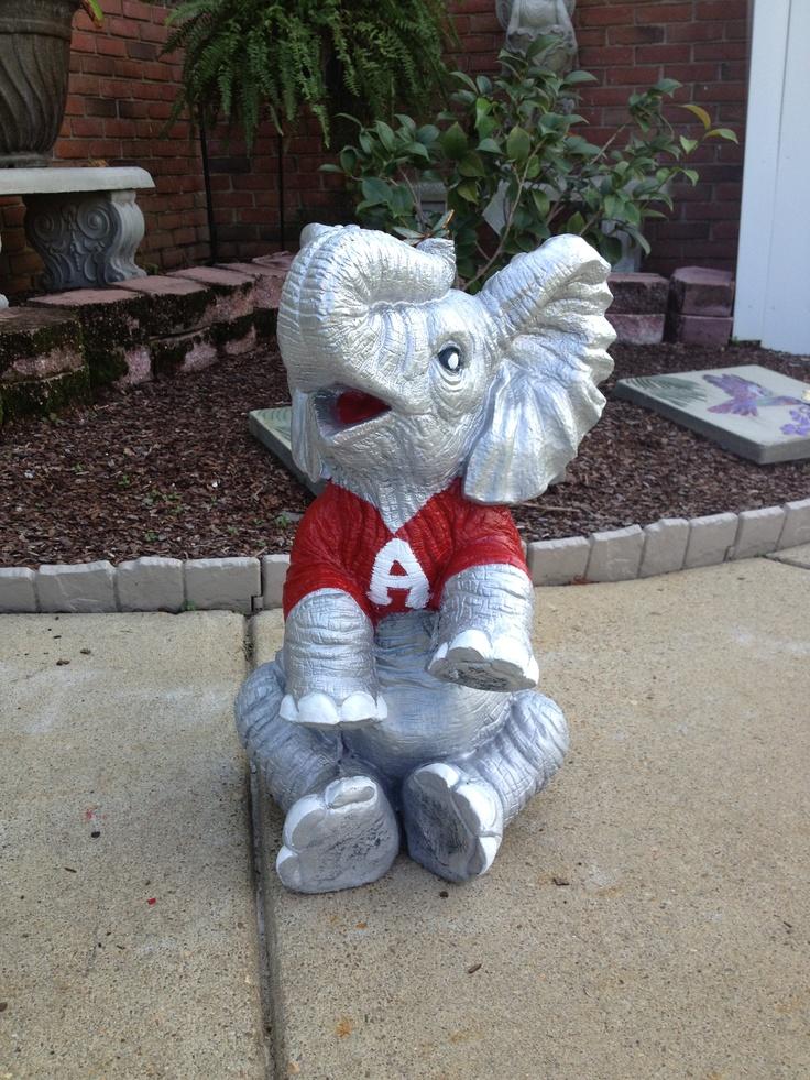 Alabama Yard Elephant. Alabama BedroomAlabama DecorBama ...
