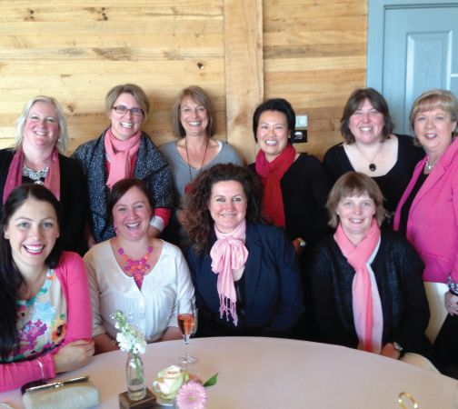 McGrath Foundation High Tea  We are very proud that proceeds from the sale of our dressings support the McGrath Foundations's aim of providing 150 breast care nurses across Australia. Here are a few of our team members and competition winners at the McGrath Foundation High Tea in Hobart just the other day. Gotta love the many varieties of pink on display - they all match perfectly with Red Kellys Tasmania's Pepperberry dressing!