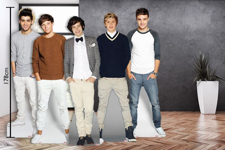 Life-Size One Direction Cut-Out