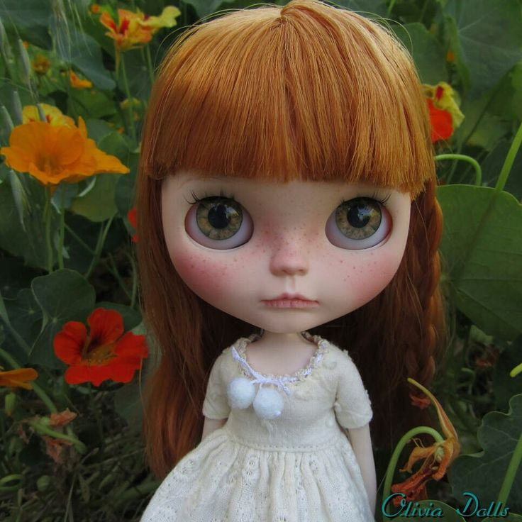 Ooak Custom Blythe doll by oliviaframhein on Etsy (null)