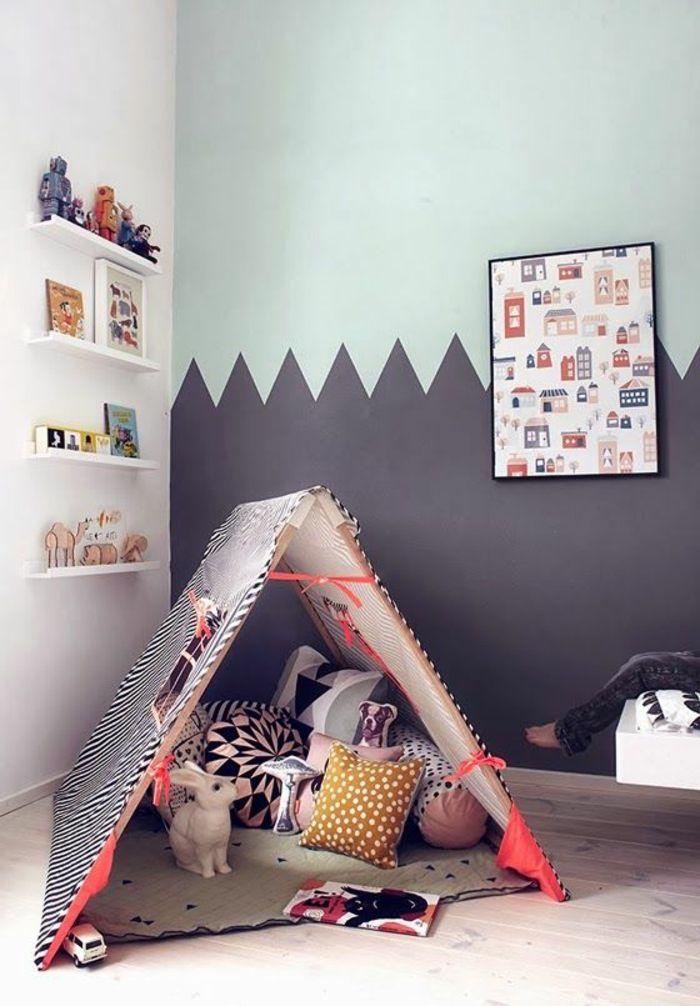 25+ best ideas about innen zelte on pinterest | kinder indoor ... - Kinderzimmer Gestalten Kreative Decke