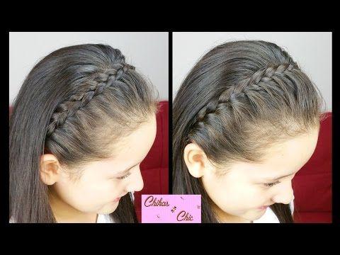 Diadema con trenzas! (2 Opciones) - Braided headbands | Peinados Faciles y Rapidos | Trenza Diadema - YouTube