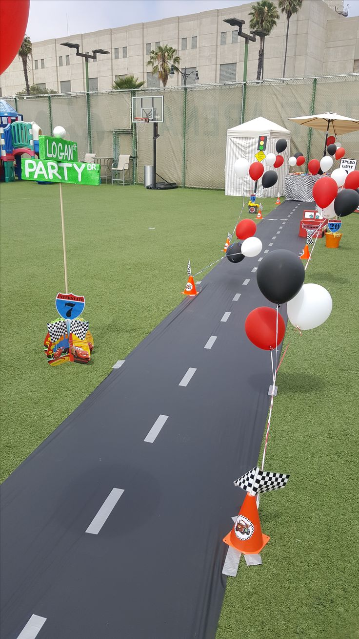 Big 2 Disney Cars Birthday decorations