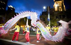 Twilight Parade for Chinese New Year, Image Hamilton Lund