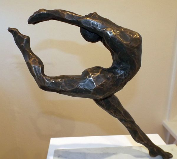 Robin Errey – Jetta - Bronze edition of 3, 2015. Exhibited in 'Out of the furnace: Bronzes from the Foundry', Gallery Two, Strathnairn Arts, 6 August – 30 August 2015