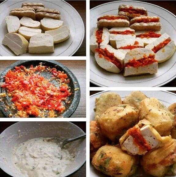 2 Resep Tahu Melet Tahu Isi Pedas Jontor Hot Jeletot Resep Tahu Resep Makanan Dan Minuman