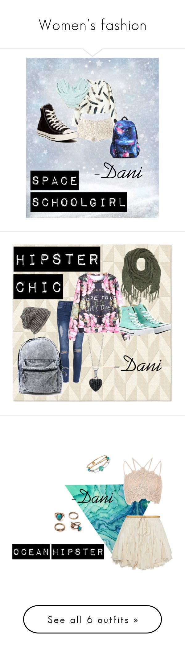 """Women's fashion"" by danniyellington on Polyvore featuring Converse, West Elm, WithChic, Grace Hats, BERRICLE, Charlotte Russe, Hipster, denim, converse and winterfashion"