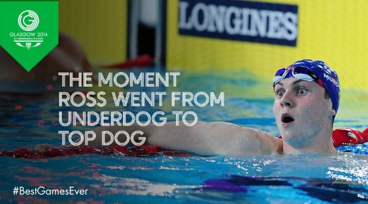 Ross Murdoch goes from underdog to topdog.