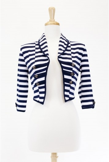 Dressing Your Truth :::  Type 4 Yes, Captain Jacket $36