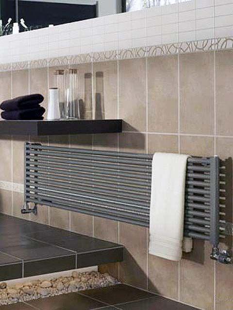 csőradiátor, fürdőszobai radiátor, színes radiátor