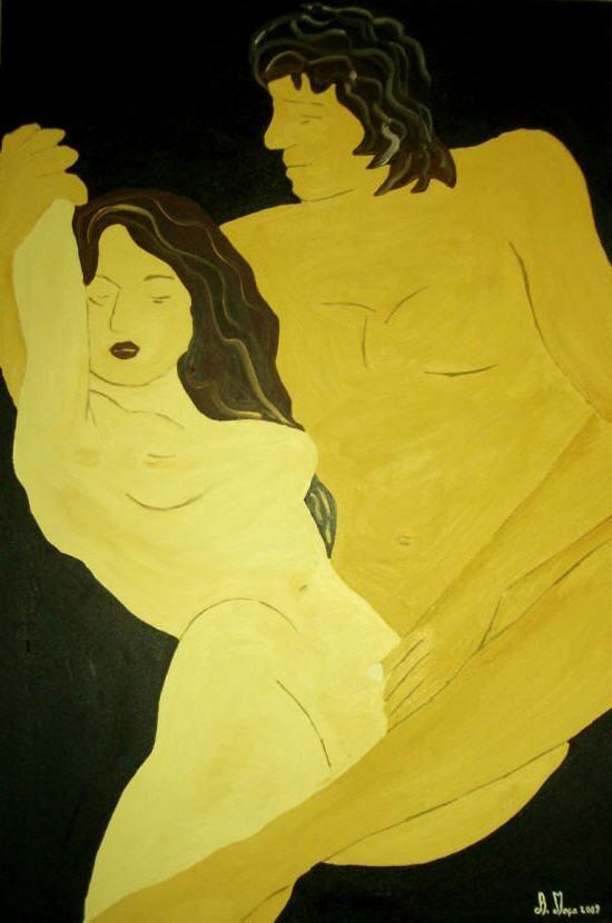 Pintora Adelaide Moça, Óleo sobre tela, TAMANHO 60*90