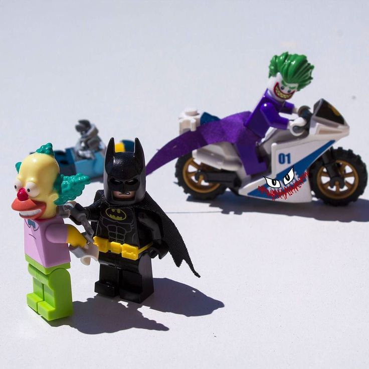 -Wrong clown Bat-Idiot.. -AHAHAHAHA  After a few days of break here we are back again!  #lego #summer #break