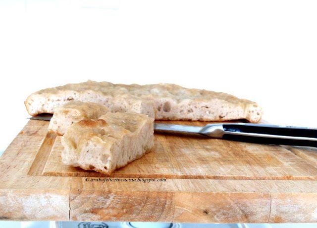Arabafelice in cucina!: Focaccia (furbissima!) di Giorgio Locatelli