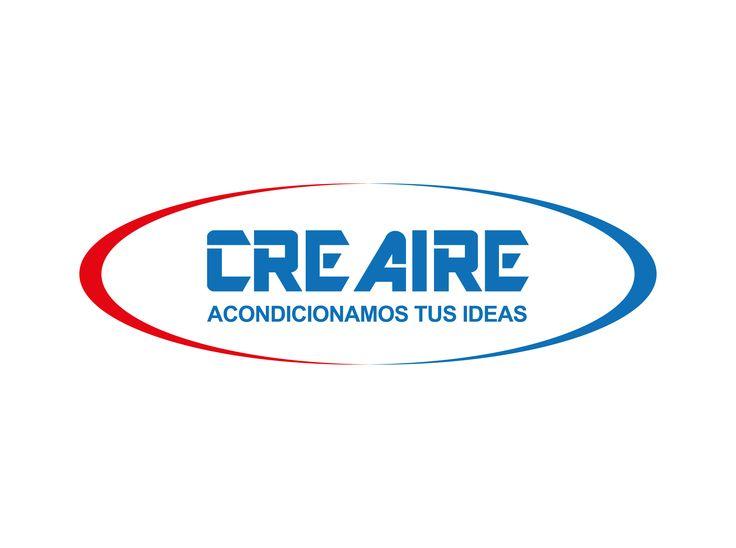 Cliente : Sebastian García. Empresa Creaire.Rubro : Instalación y mantención de aires acondicionados. Trabajo : Creación de logotipos y slogan. Software : Illustrator.