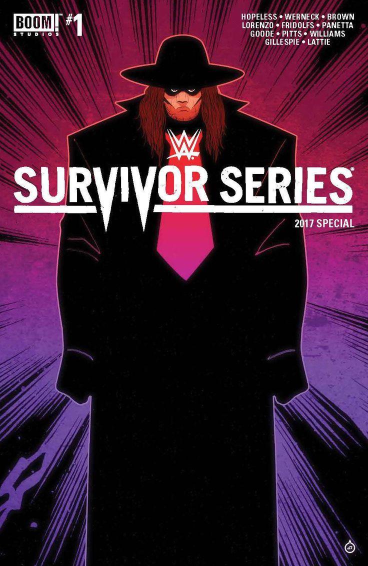 WWE SURVIVORS SERIES 2017 SPECIAL #1 FOC INCV DOE VAR
