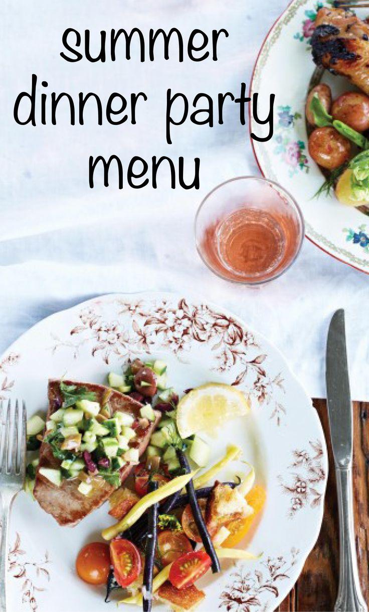 Dinner party menu martha stewart living at the lost for Magic kitchen menu