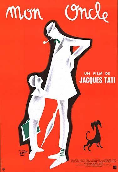 Mon Oncle, un film de Jacques Tati