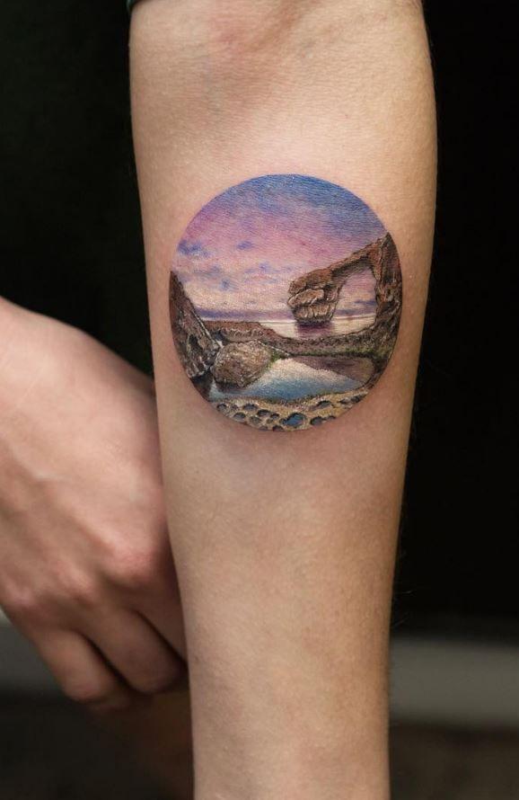Miniature Nature Tattoo