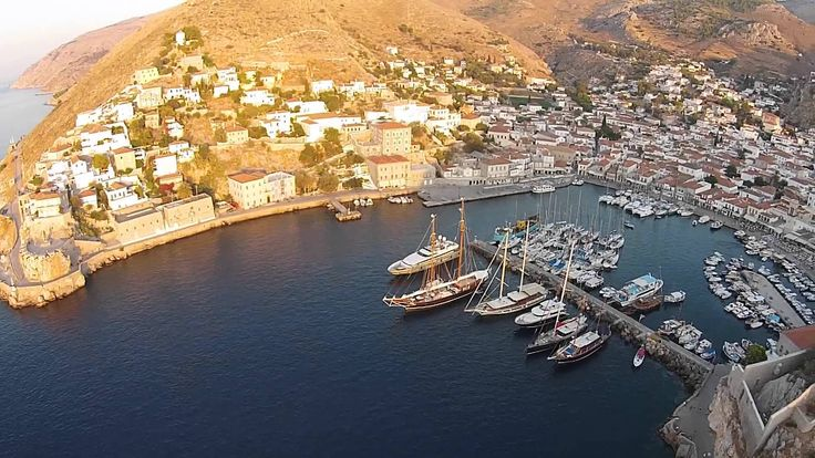 Welcome to the Sunset Restaurant in Hydra Island, Greece!
