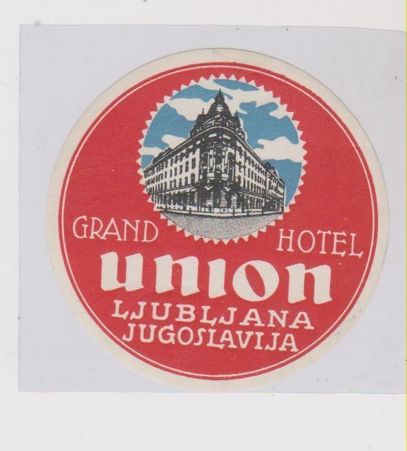 Grand Hotel Union, Ljubljana. In terms of location and architecture, this is the only place to stay. It is a magnificent Art Nouveau building dating back to 1905, about 50 metres from Presernov trg and the Triple Bridge.