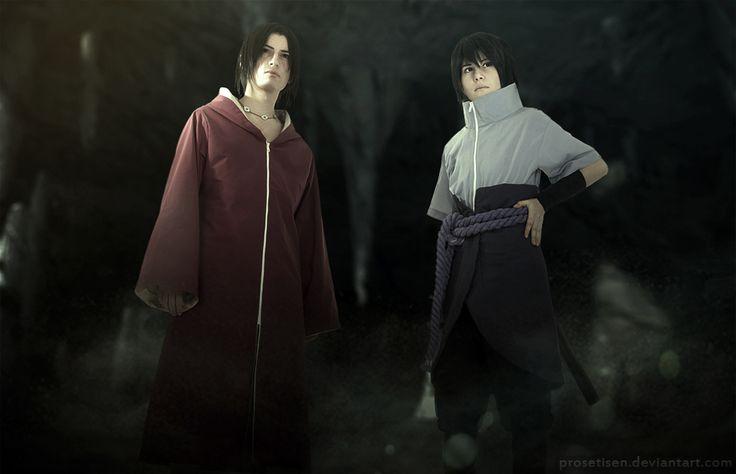 Itachi and Sasuke 578 by proSetisen.deviantart.com on @deviantART