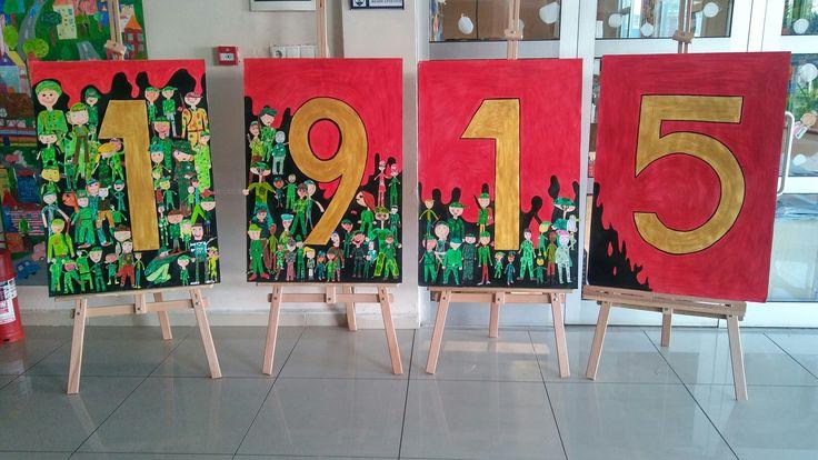 18 Mart Çanakkale Şehitleri Çalışması