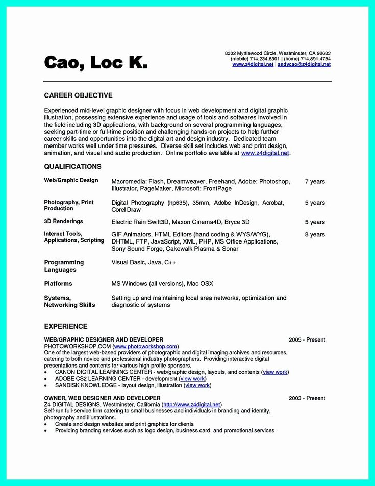 Computer science resume example awesome the best puter