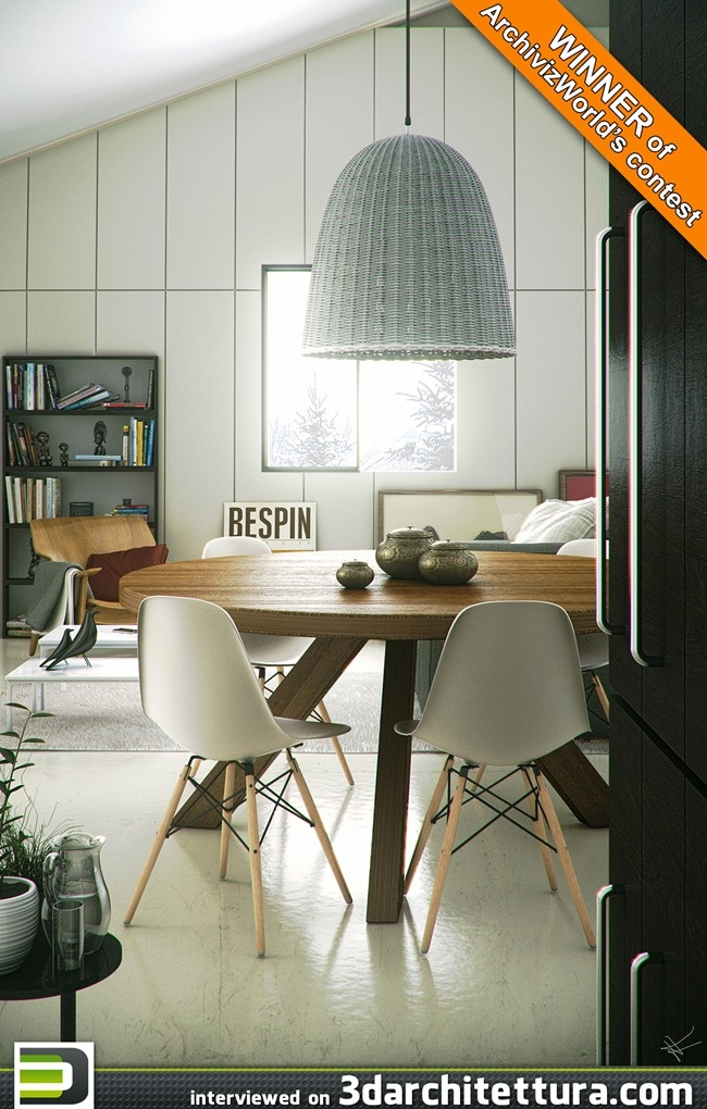 Tiago Alexandrino, render, 3d, interior design, 3darchitettura  www.3darchitettura.com
