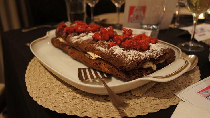 And desert is served! #afreerangelife @Annabel Langbein