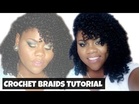Crochet Hair Routine : CROCHET BRAIDS WIG STEP BY STEP Jameela RosaE - YouTube