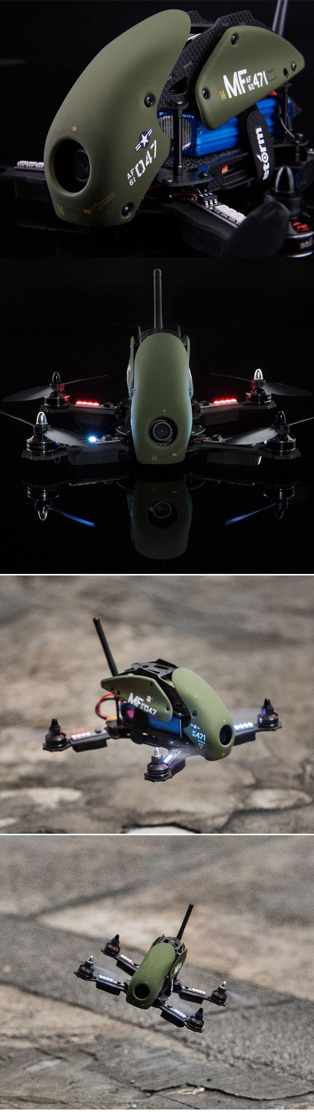 STORM Racing Drone (RTF / SRD280 Military Spec)