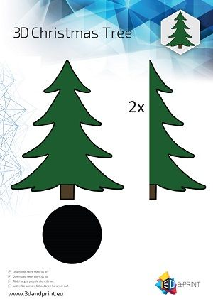 Wil jij de kerstsfeer in huis halen? Maak dan je eigen kerstboom met de 3D pen. Op de webshop www.3dandprint.eu vind je de mooiste filament voor je eigen kerstboom.