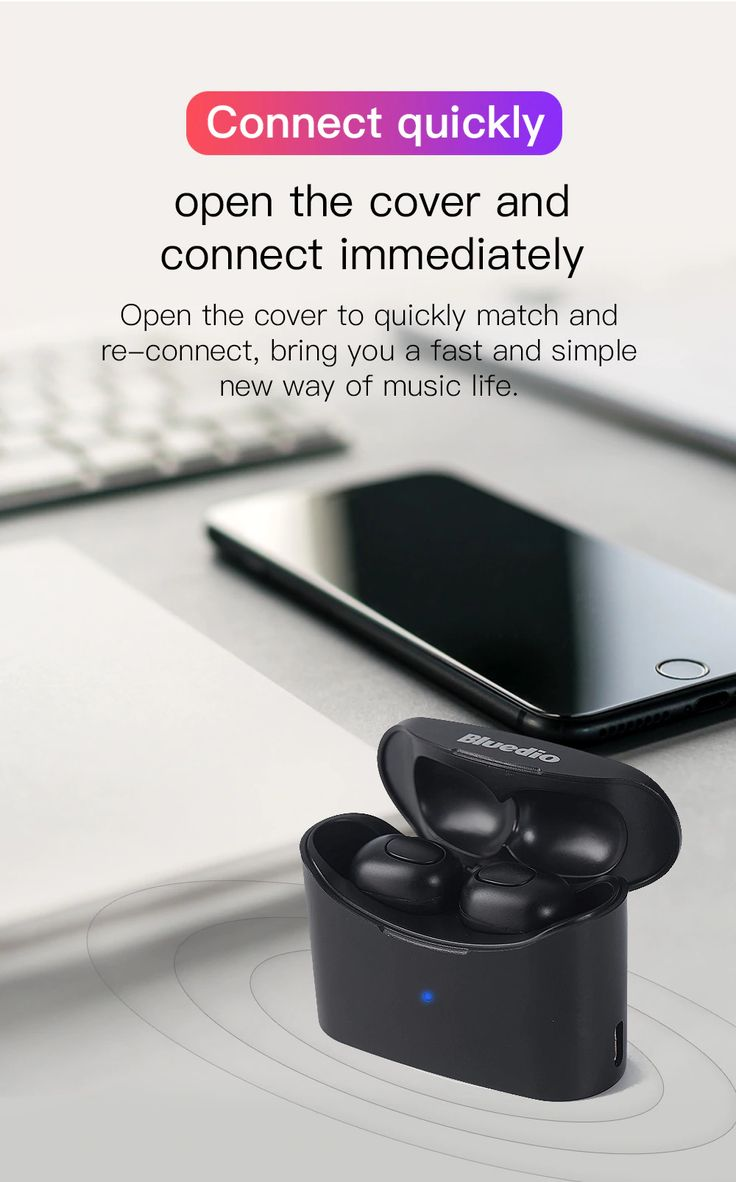 ORIGINAL BLUEDIO WIRELESS AIRPODS FOR ONLY 17